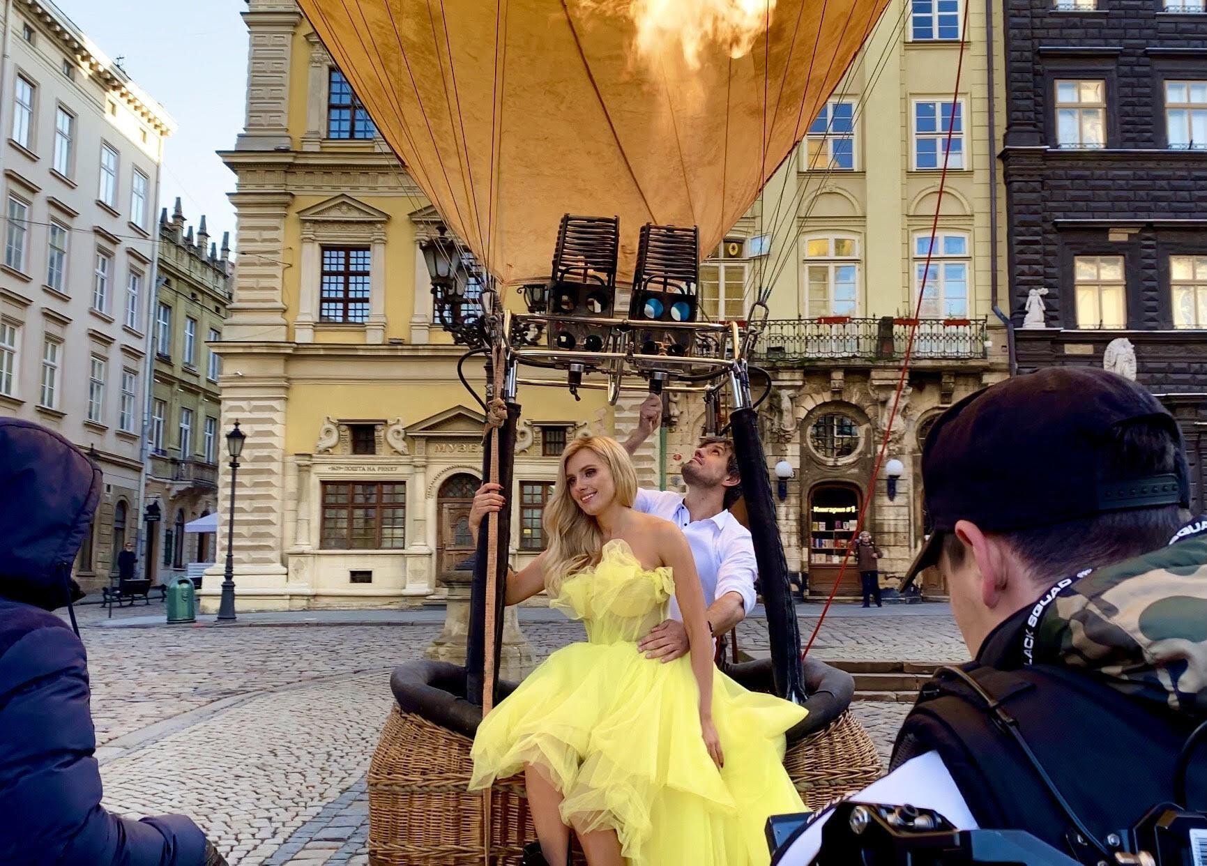 Ирина Федишин сняла новый клип. Фото со съемок