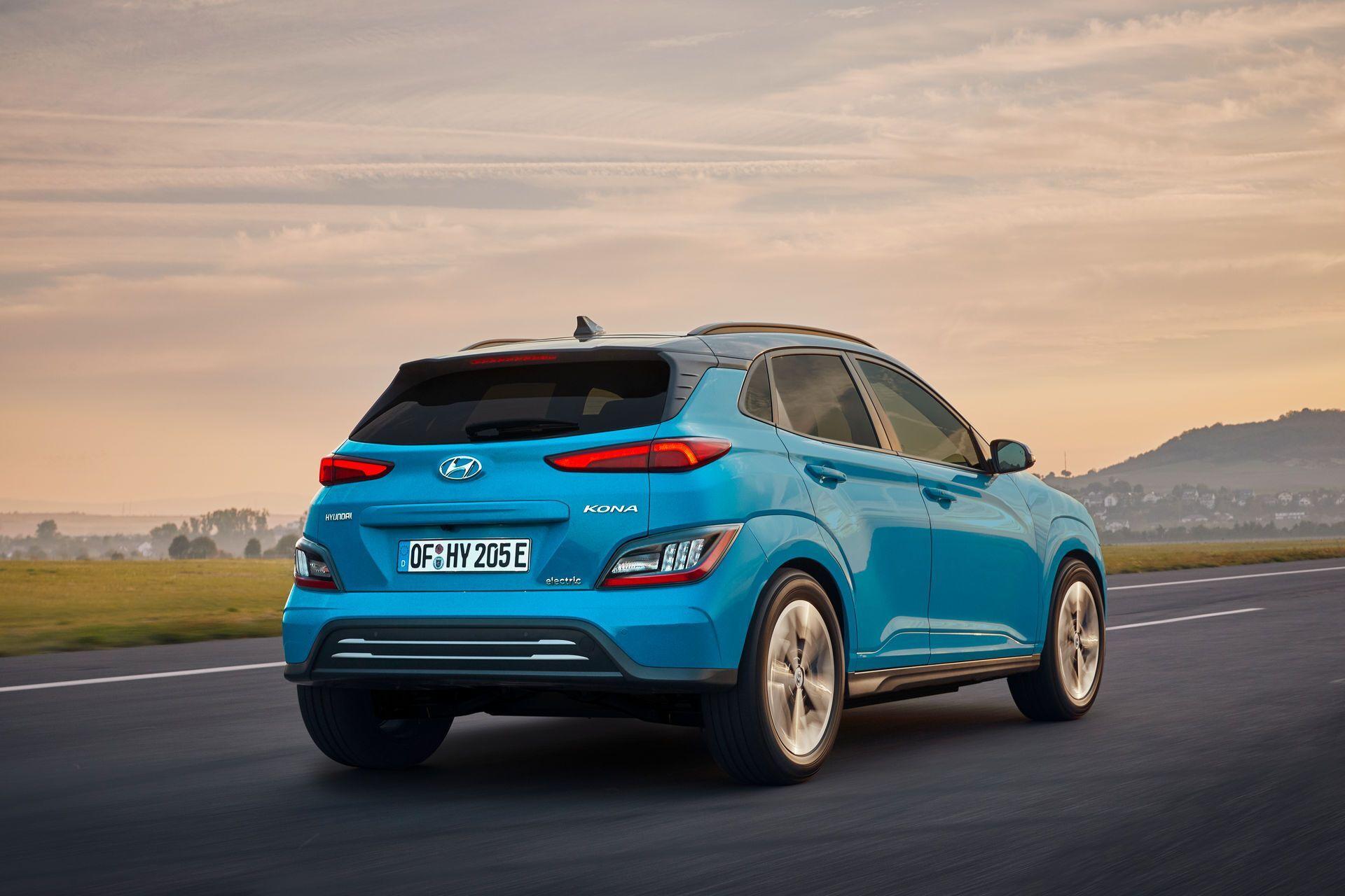 Hyundai Kona Electric 2021.