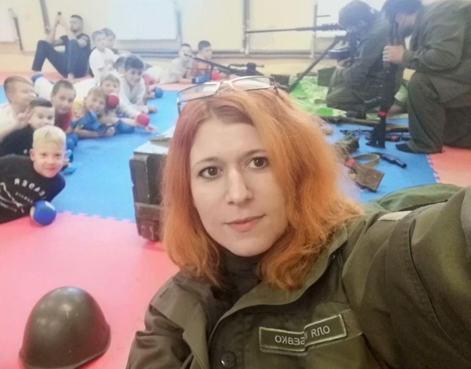 Ранее Ольга была волонтером в АТО