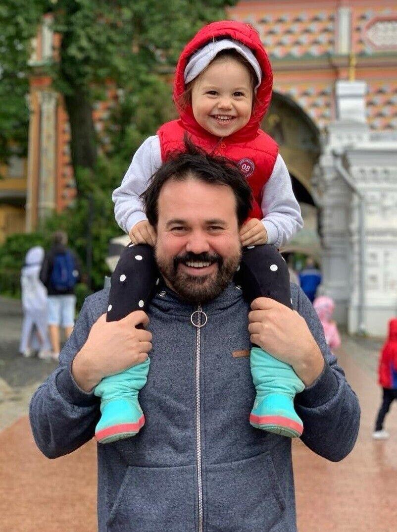 Антон Лірник із донькою Марфою