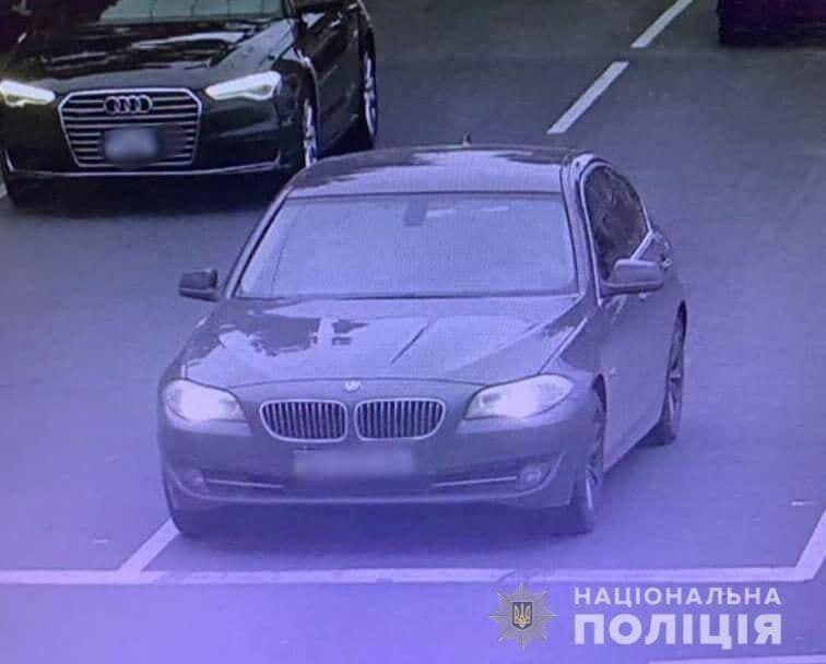 Авто, которое, предположительно, могло спровоцировать ДТП.