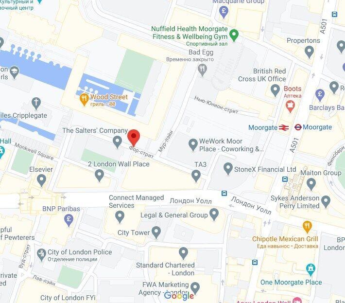 Авария произошла на севере Лондона.