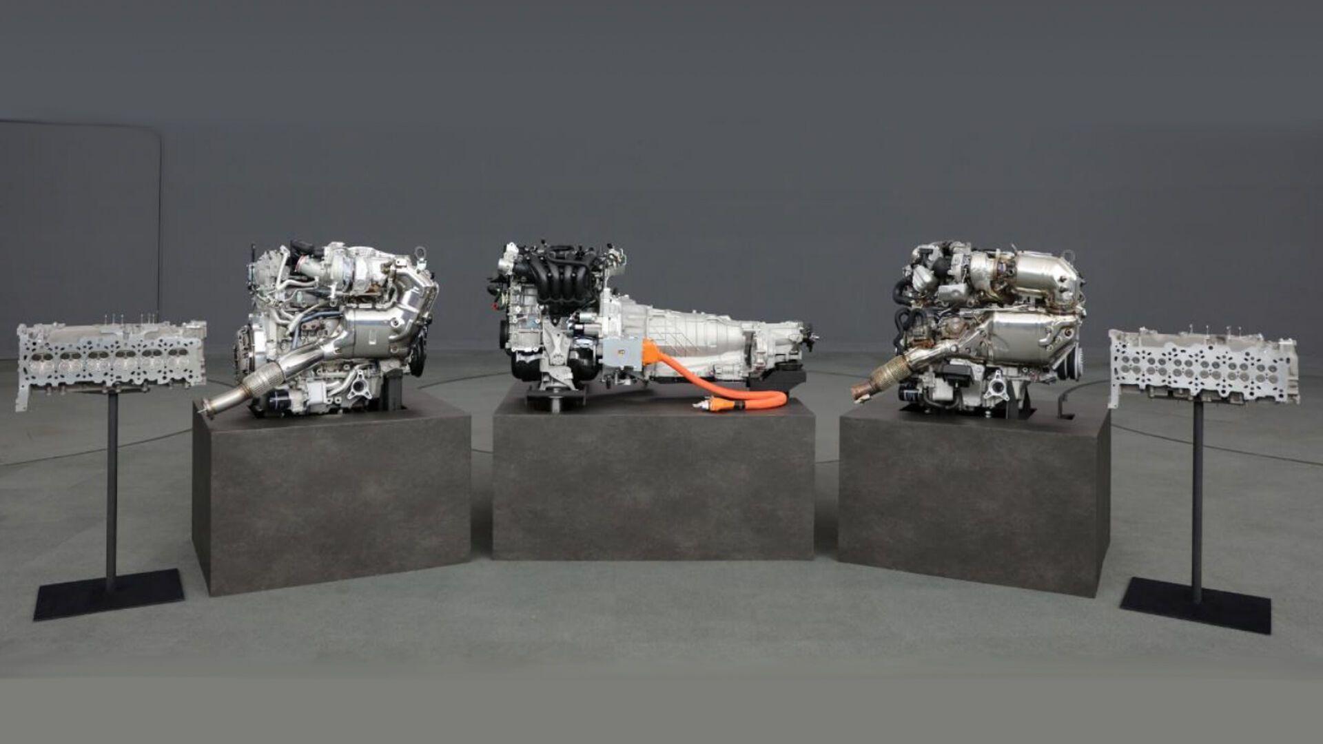 Mazda показала новую генерацию силовых агрегатов, в том числе шестицилиндровые рядные моторы