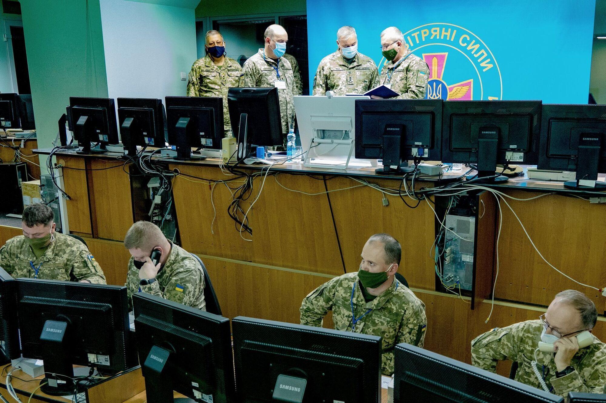Командование ОС ВСУ провело командно-штабные тренировки по стандартам НАТО.