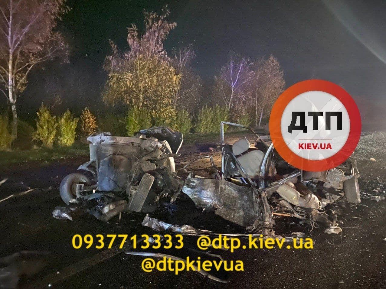 ДТП на Одесской трассе.
