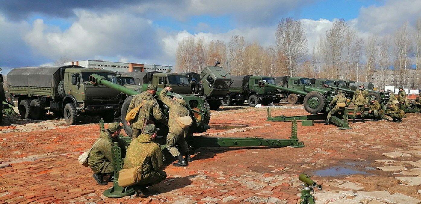 Ульяновські десантники під час підсумкової перевірки за 2020 рік.