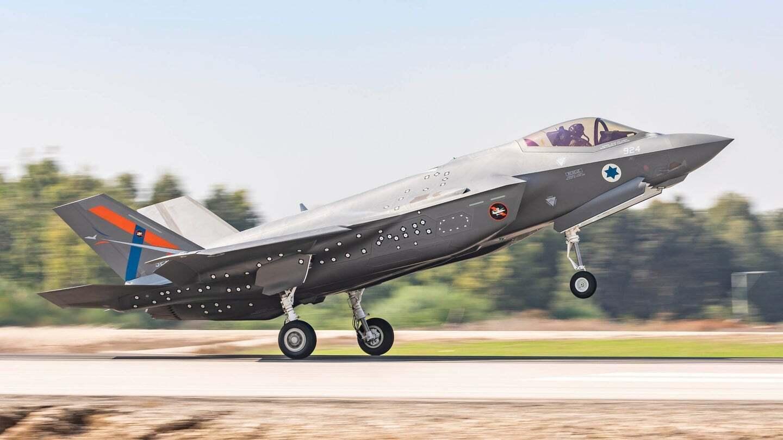 Истребитель пятого поколения F-35I Adir