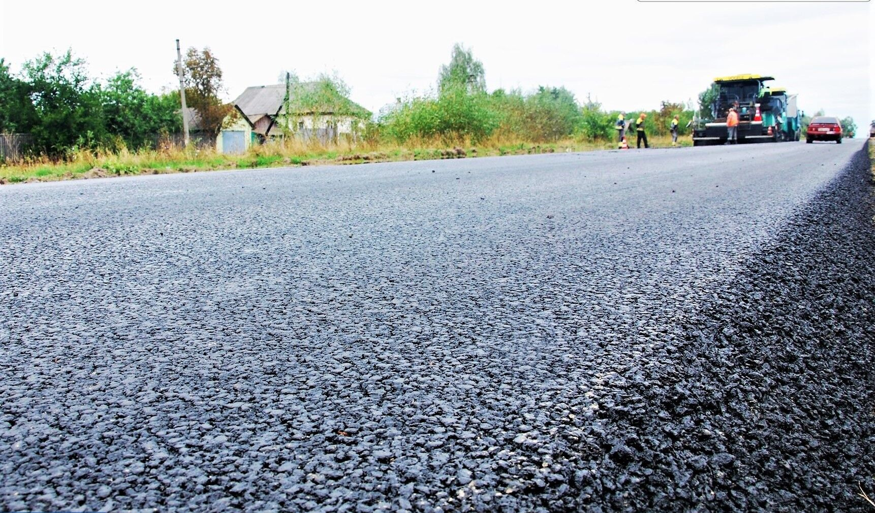На Чернігівщині кажуть: білоруська компанія будує дійсно якісні дороги.
