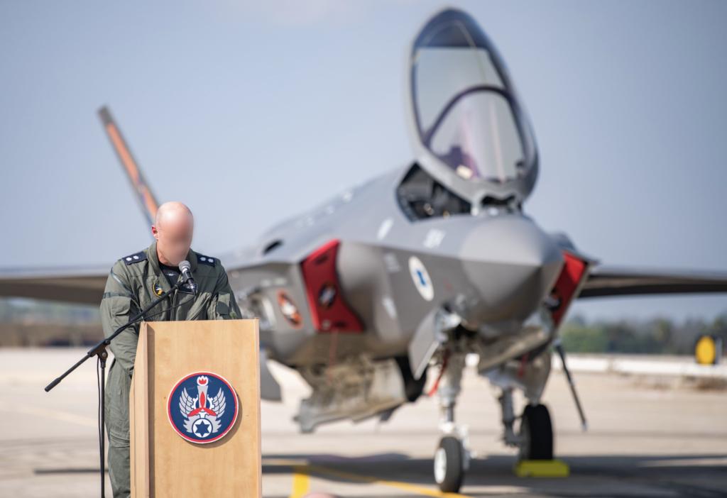 F-35I Adir прибыл на базу в Израиль
