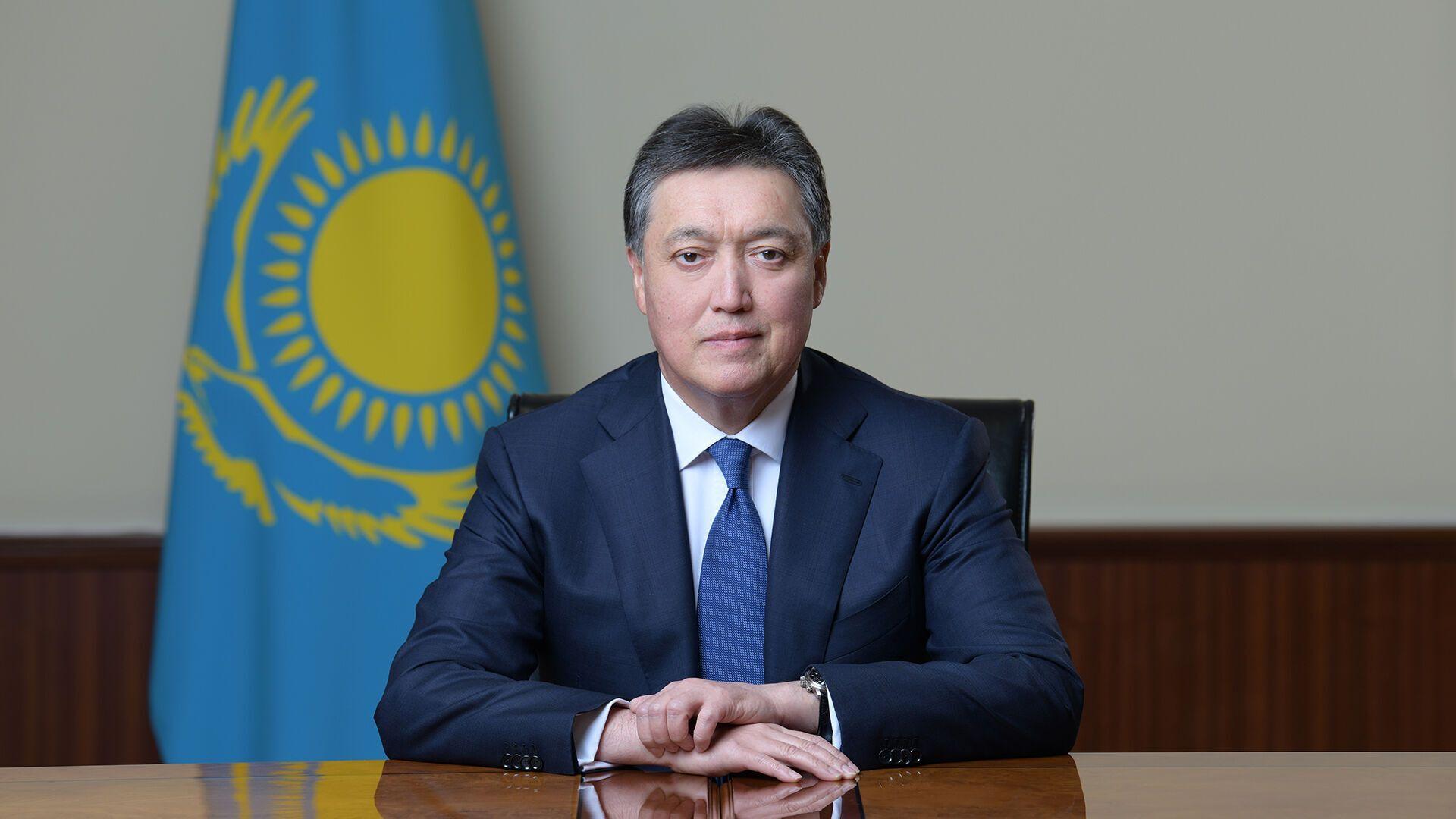 Аскар Мамин, премьер Казахстана