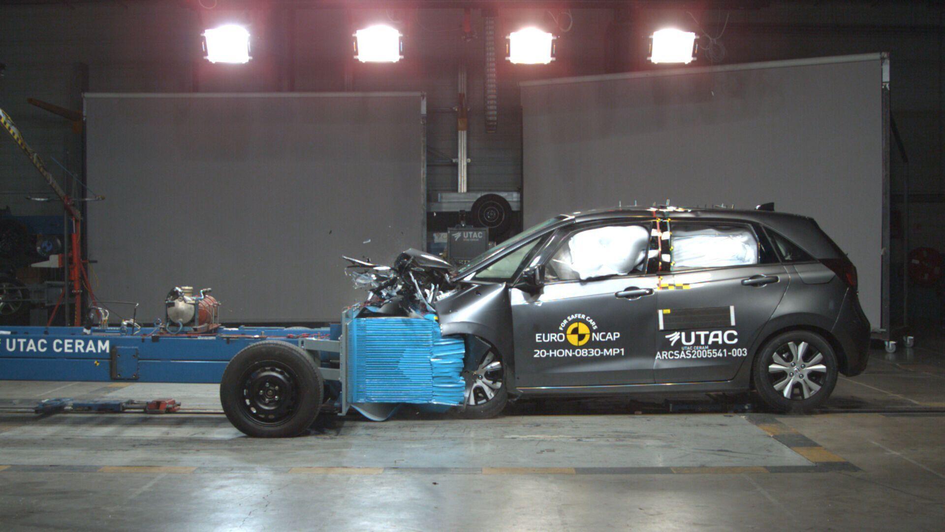 Honda Jazz получила высокие оценки специалистов Euro NCAP за защиту пешеходов