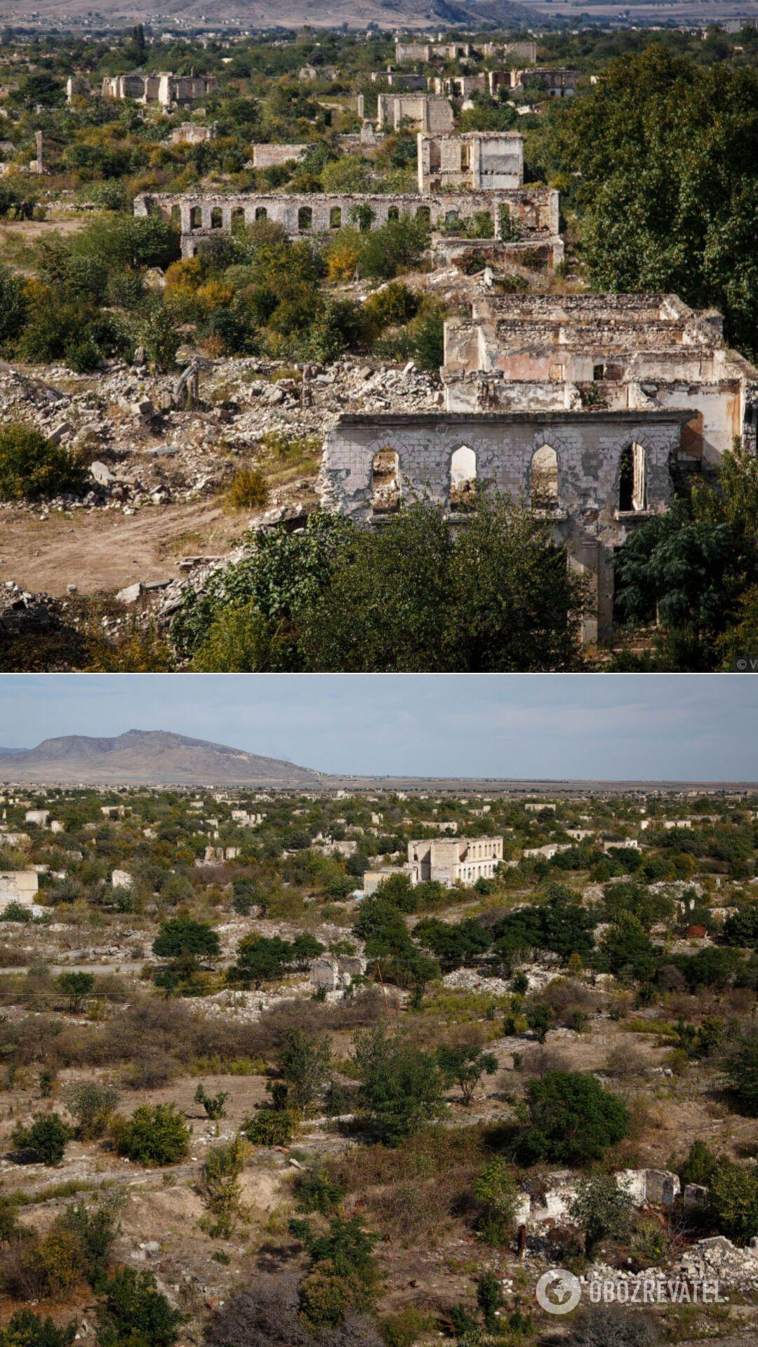 Агдам став живим свідченням того, як легко місто з населенням майже в 30 тис. осіб перетворилося на купу нікому не потрібних каміння