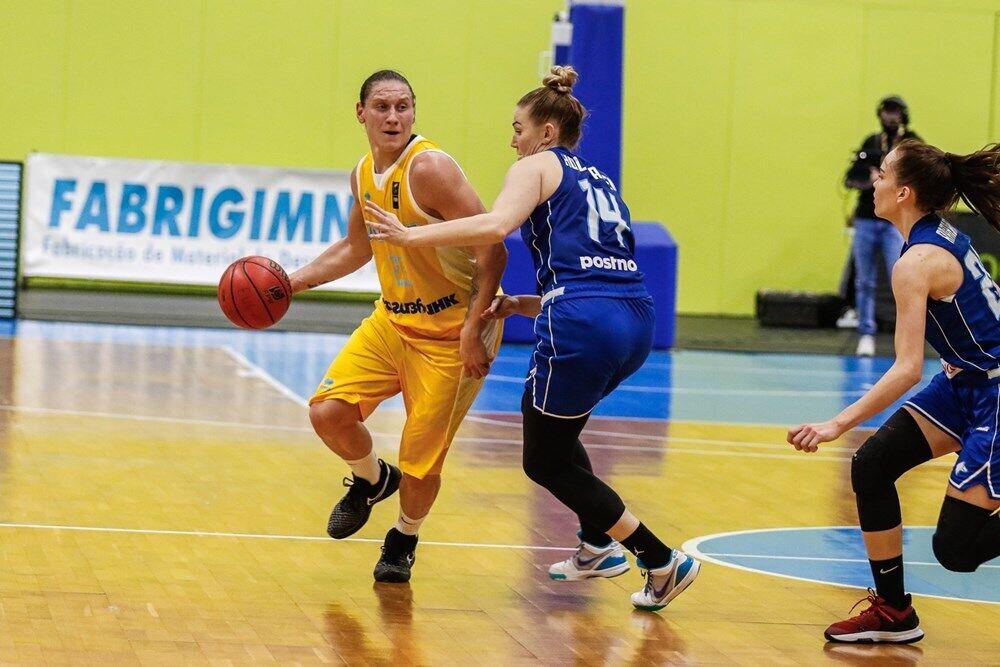 Аліна Ягупова в атаці