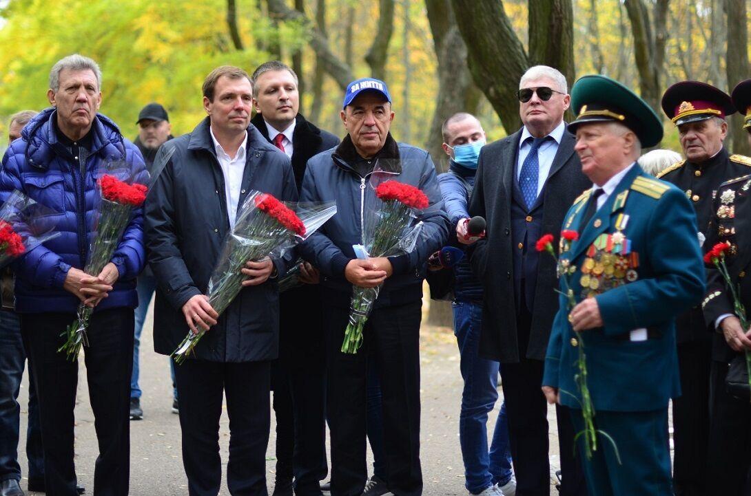 Команда ОПЗЖ зустрілася з ветеранами в Одесі