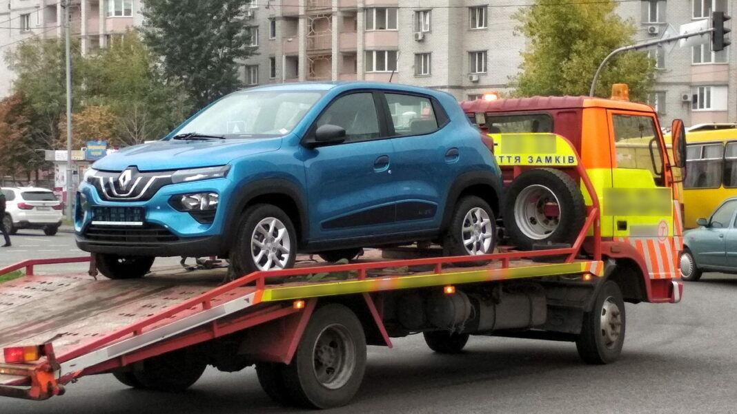 Renault City K-ZE, который не так давно заметили в Киеве
