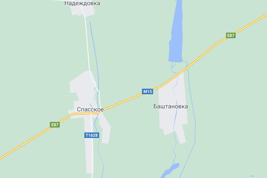 Авария произошла между Баштановкой и Спасским.
