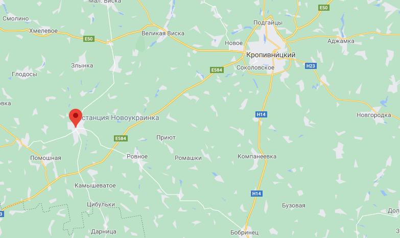 Из Новоукраинки в Кропивницкий девочку перевозили санавиацией