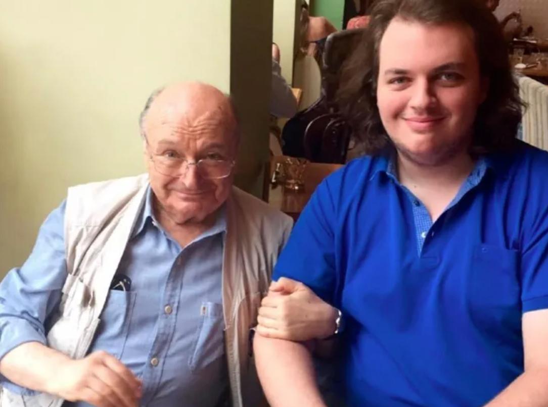 Жванецкий с сыном Дмитрием