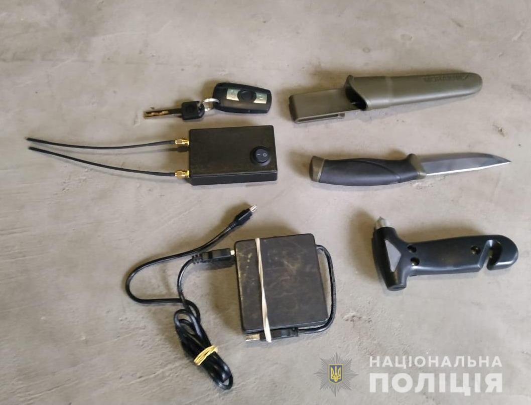 В ходе обыска обнаружили граббер