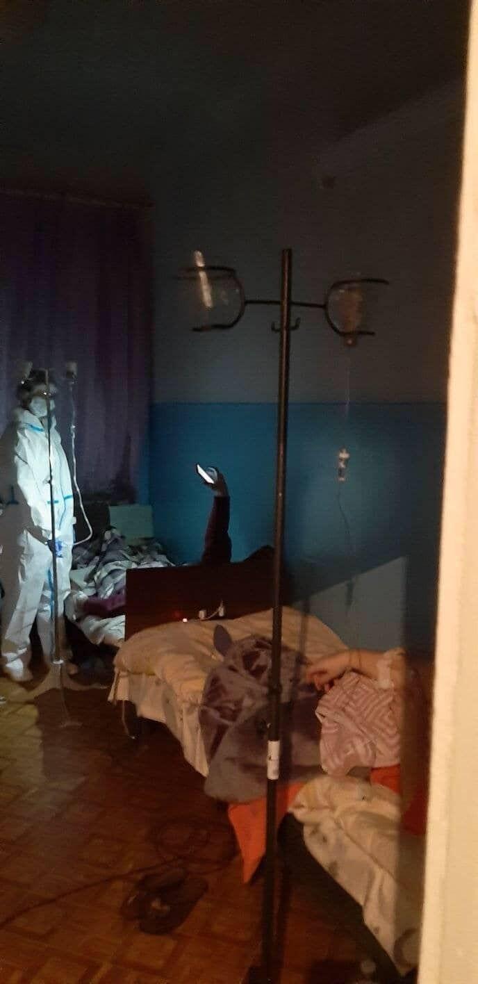 Это вам не Феофания: больница, где фонариком подсвечивают, чтобы делать уколы