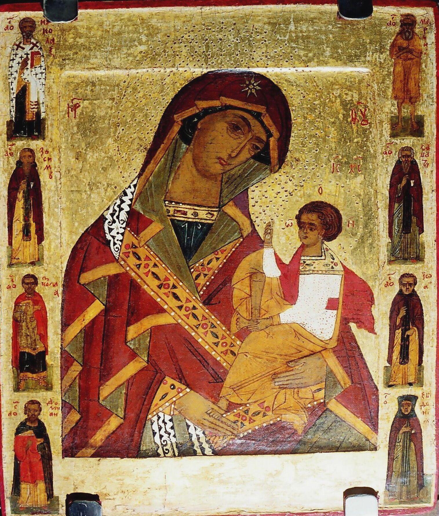 Икона Божьей Матери Шуйской (Смоленской)
