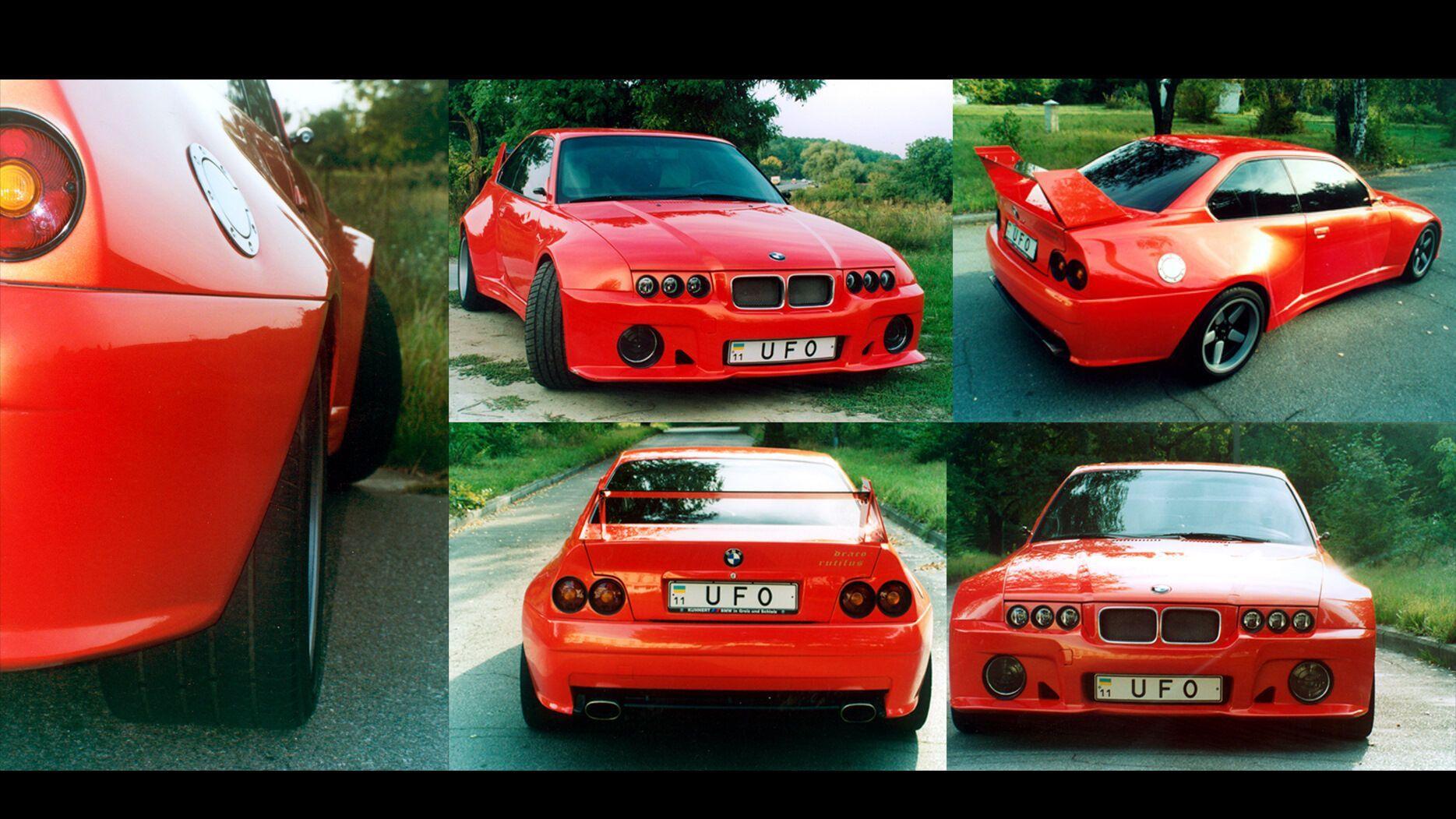 Легенда тюнінгу 2000-х років - BMW в дуже широкому обважуванні