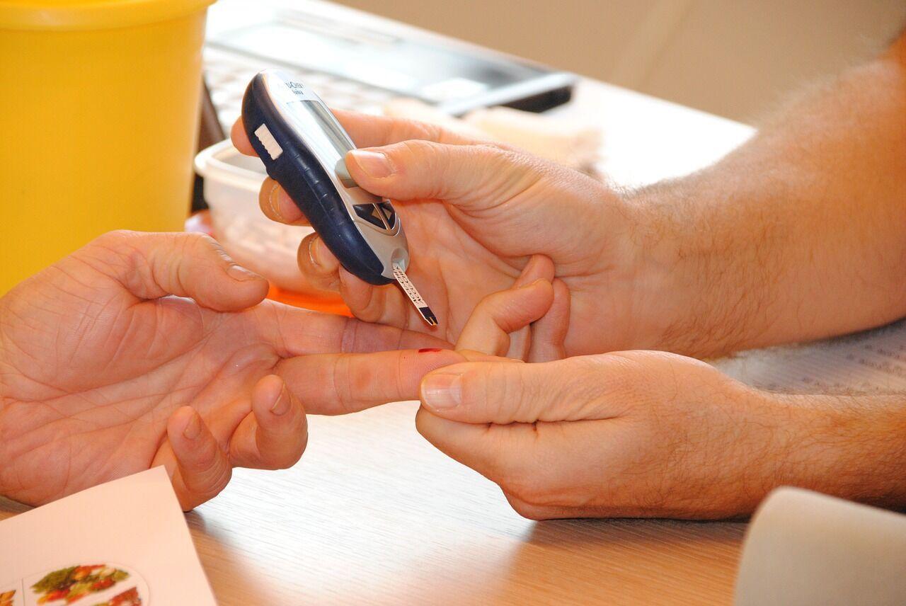 Діабет буває двох типів: 1-го типу та 2-го типу