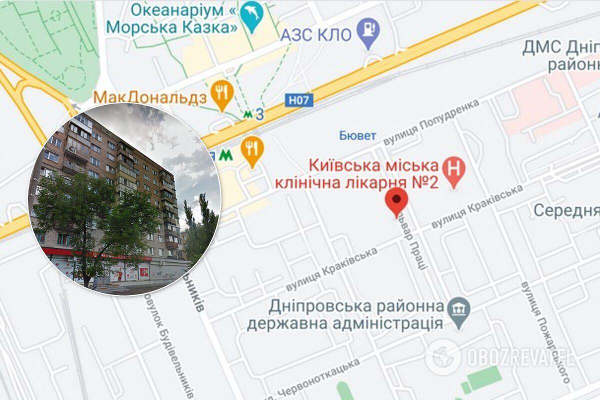 Напад на жінку трапився на бульварі Праці у Дніпровському районі