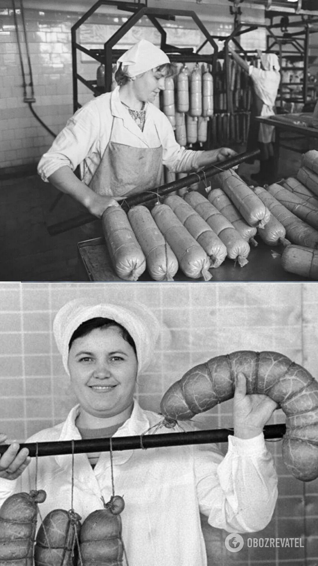 Докторскую колбасу начали изготавливать в СССР в 1936 году