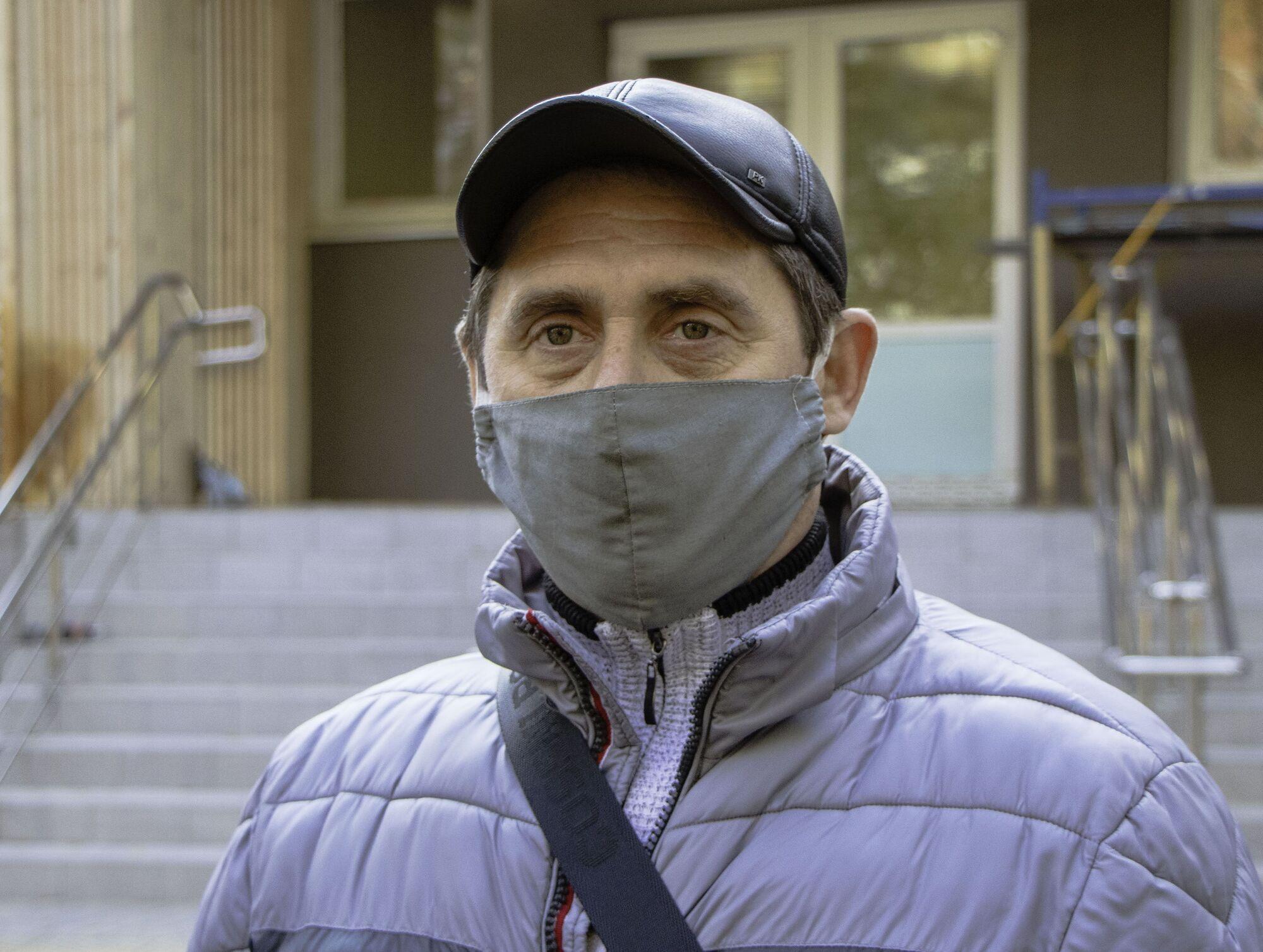 Дніпрянин Анатолій Назаренко має статус чорнобильця і опікується справами тих, хто також постраждав внаслідок аварії на ЧАЕС