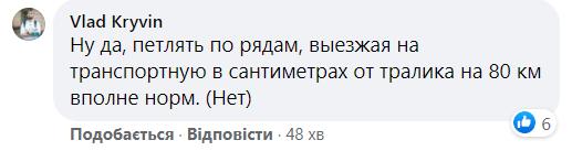 Коментарі користувачів Facebook на відео