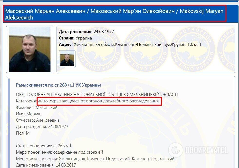 Марьян Маковский.