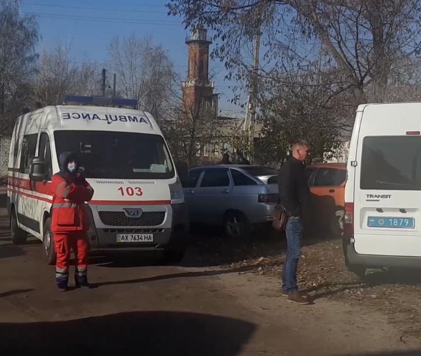 """На місці події чергували співробітники управління """"КОРД"""", рятувальники і медики"""