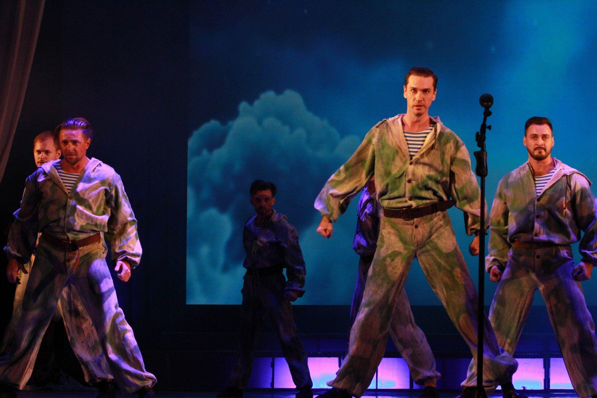 Военные приняли участие в театрализованной постановке.