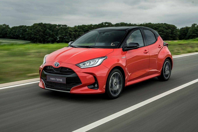 В Украину приехал новый гибридный автомобиль – Toyota Yaris Hybrid
