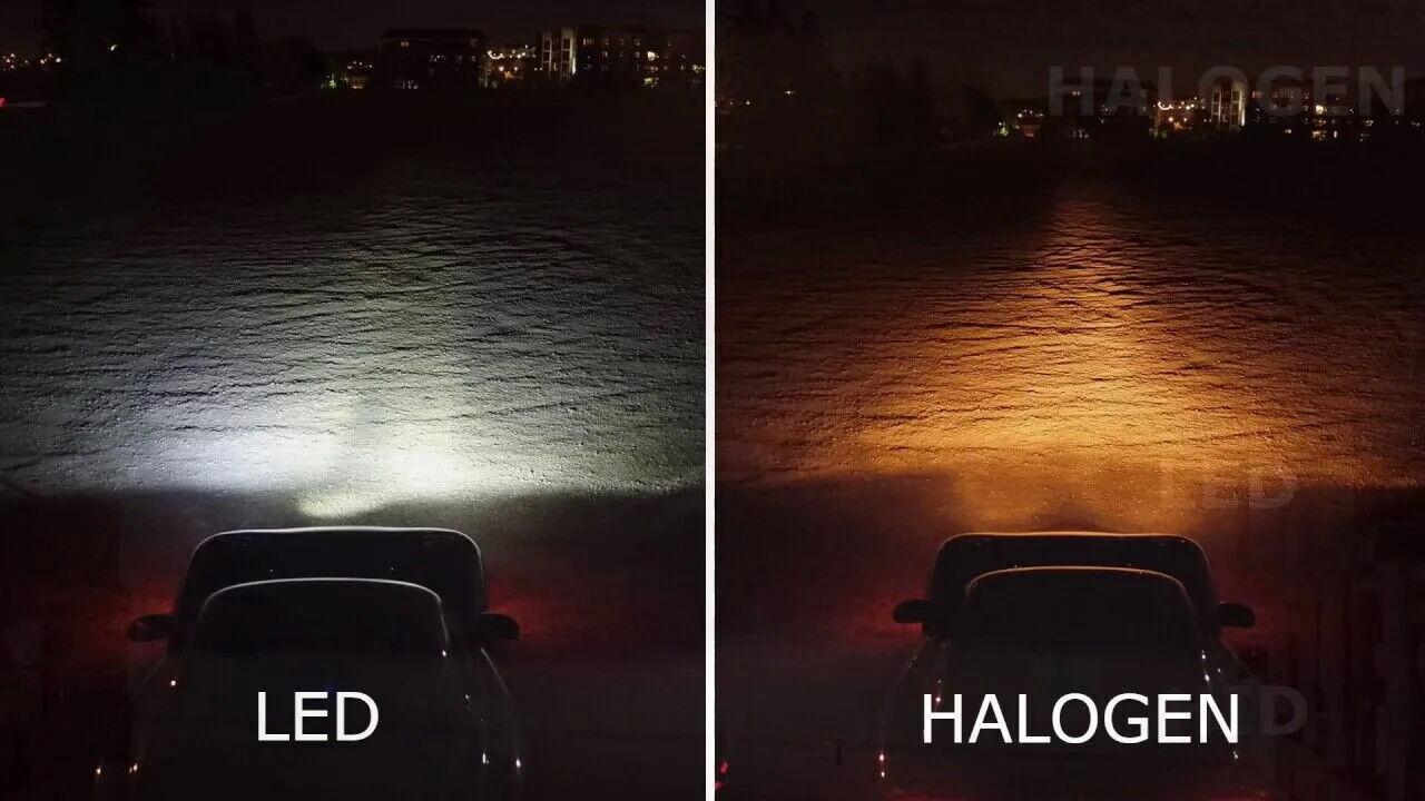 С помощью светодиодных аналогов можно на 500% улучшить качество света