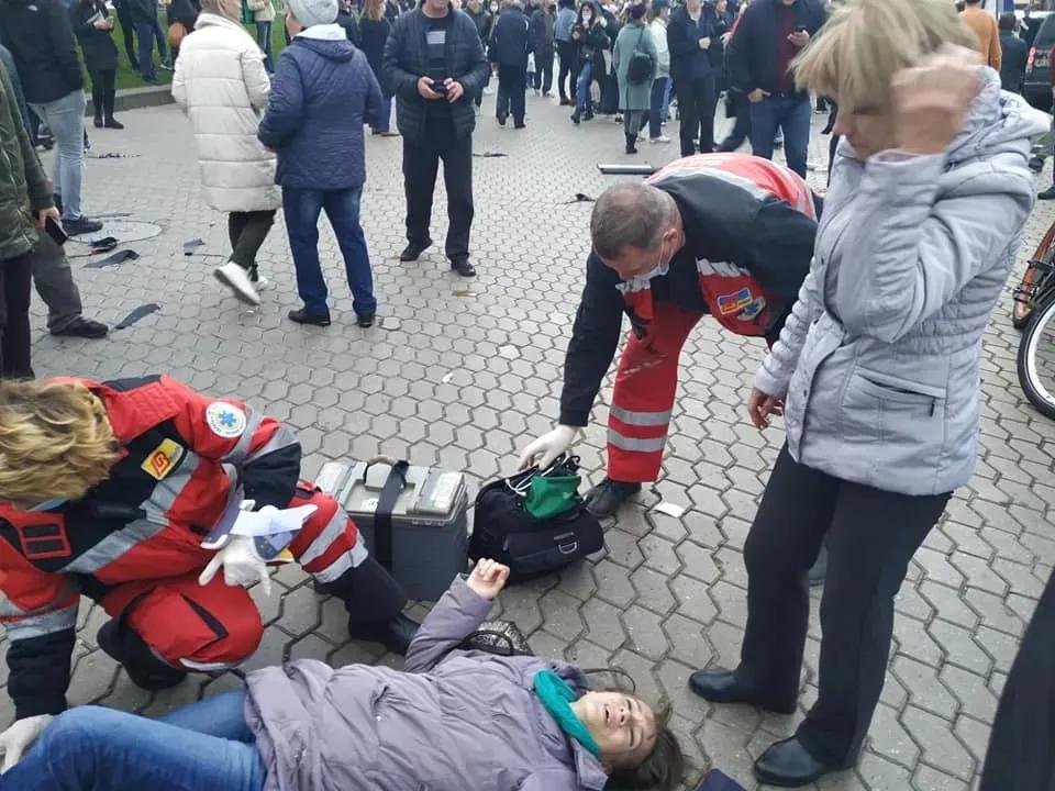 Внаслідок ДТП на Майдані загинули дві жінки 79 і 30 років, ще четверо осіб було госпіталізовано