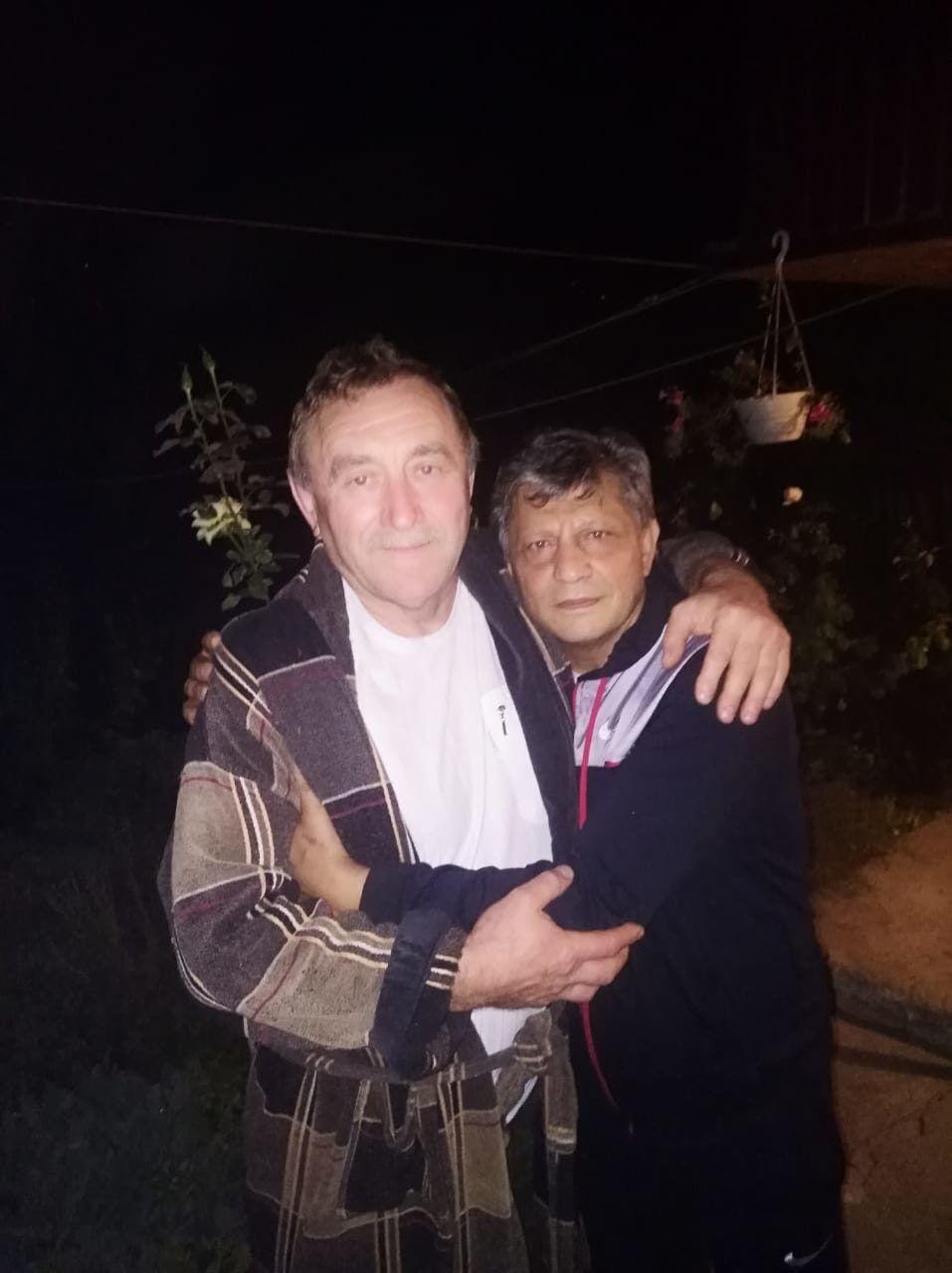 Кадрус із батьком Вікторії