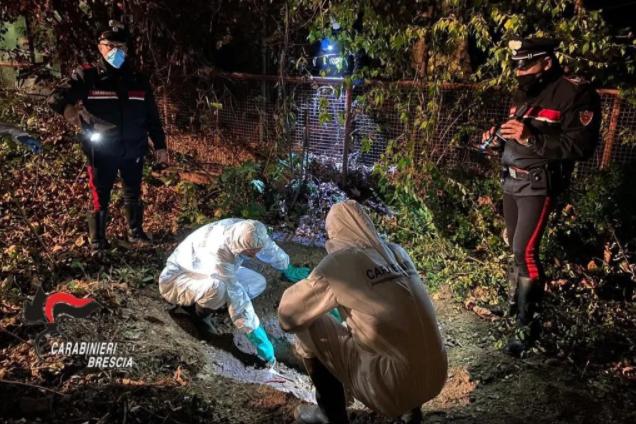 У саду занедбаного клубу в містечку Беріша на глибині одного метра поліцейські відкопали тіло Вікторії
