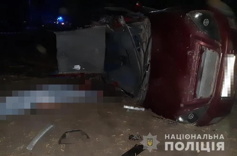 У Пологівському районі Запорізької області причиною смертельного ДТП став 15-річний водій Chery