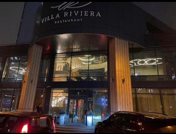 Villa Riviera restaurant