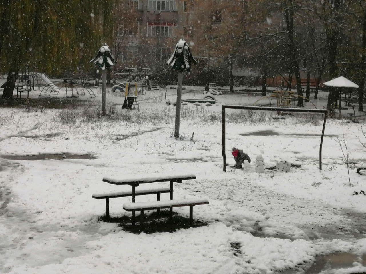 Снігопад продовжиться 16 листопада