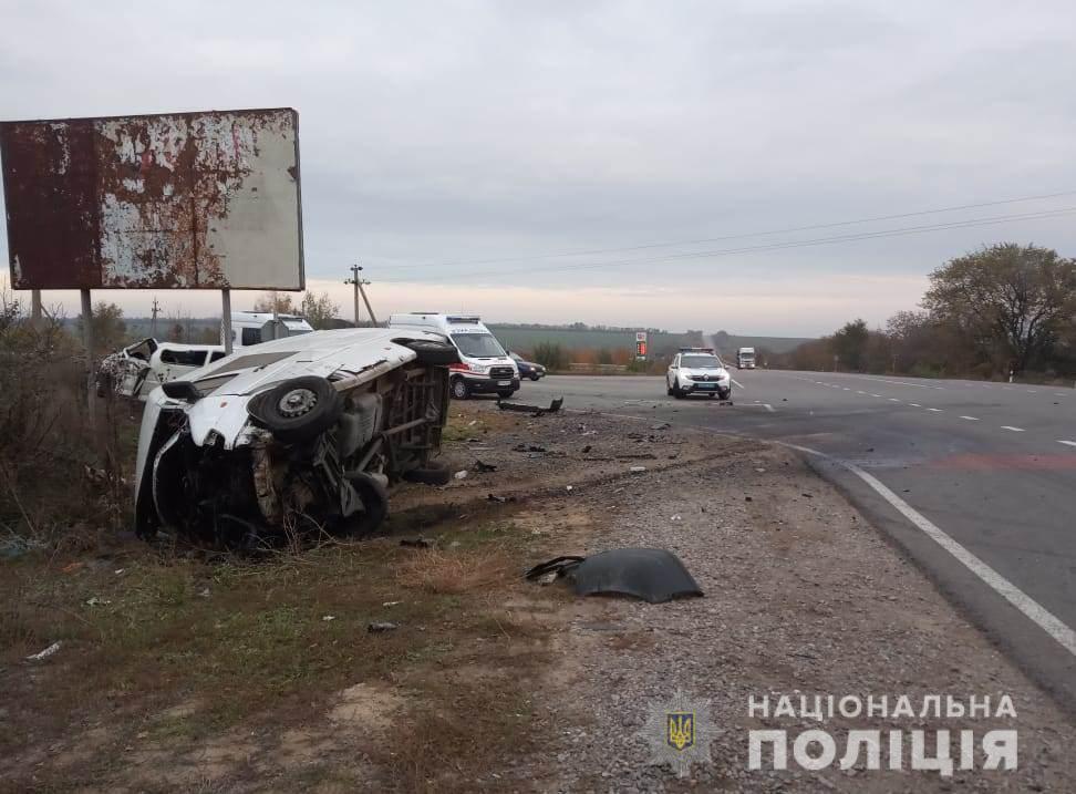 Два человека погибли в результате ДТП в Одесской области