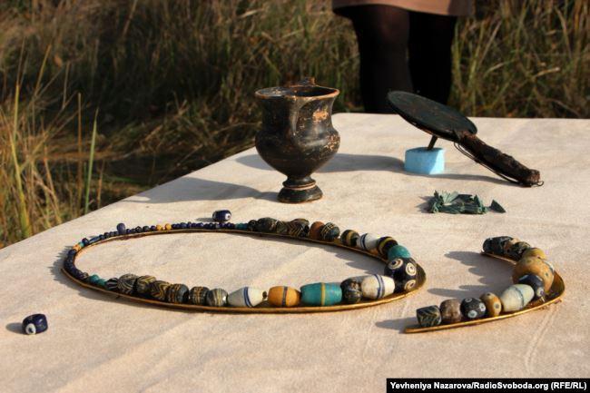 Гробниці скіфського воїна майже 2,5 тисячі років