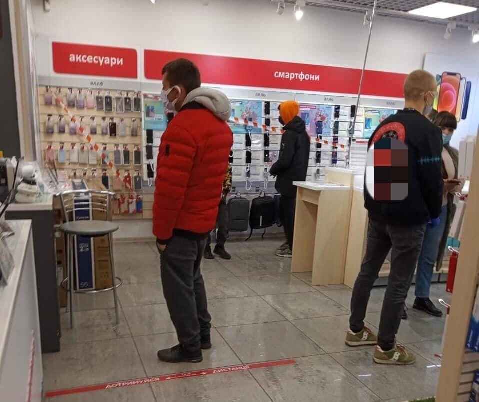 Не соблюдали карантин магазины мобильной связи