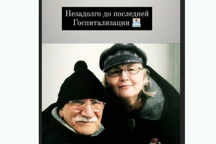 Прийомний син померлого актора Армена Джигарханяна Степан показав останнє фото батька