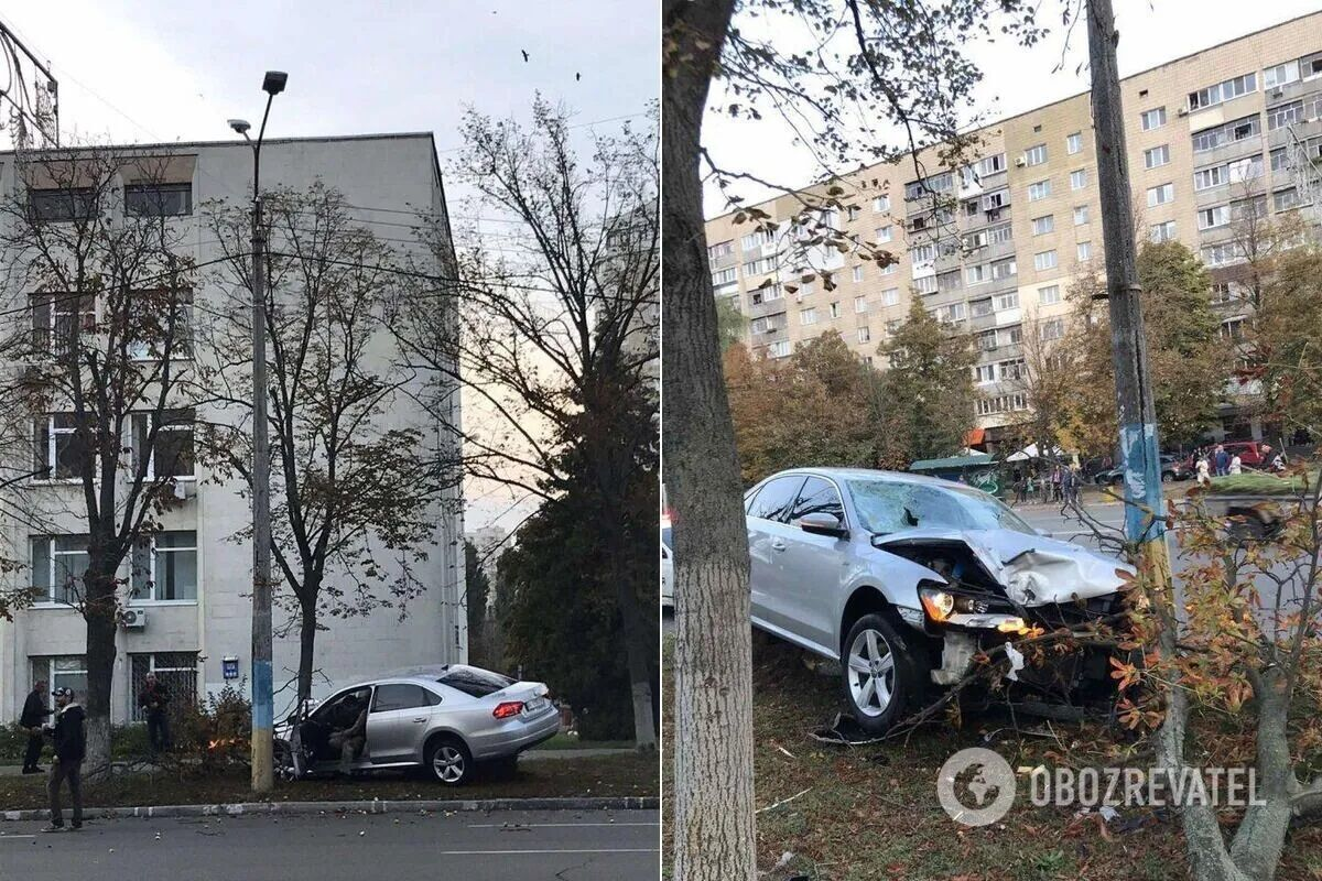 Водитель сбил женщин на пешеходном переходе.