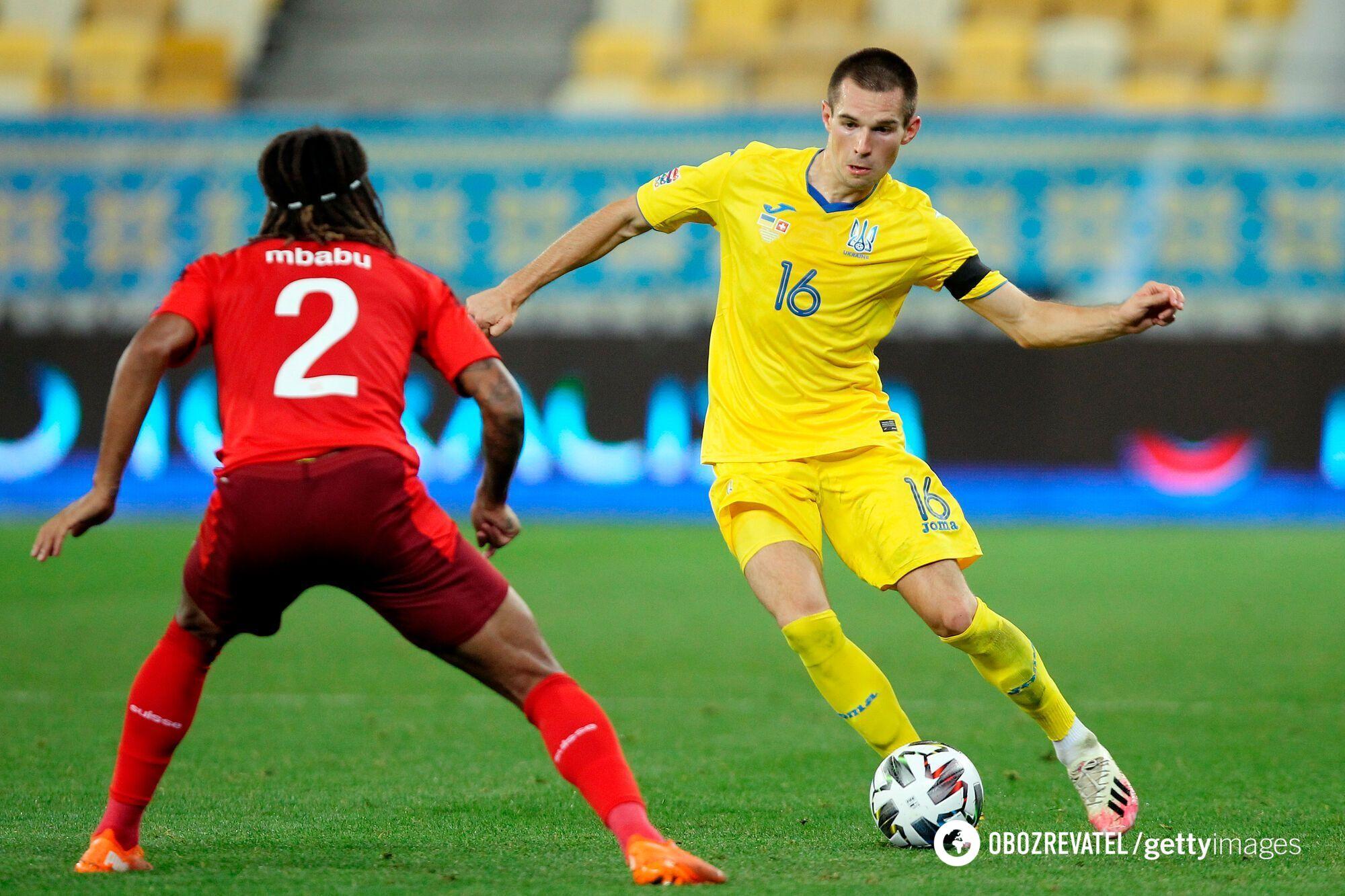 Україна випереджає Швейцарію на три очки.