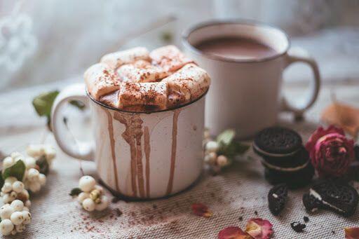 Какао з маршмеллоу