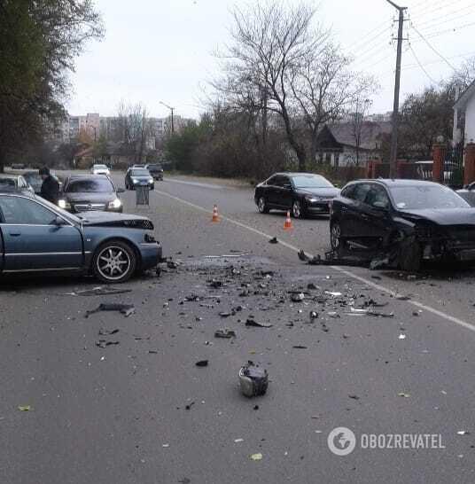 В результаті ДТП постраждав водій Audi.